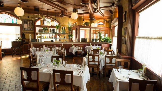 Ristorante Bartolotta in Wauwatosa, which opened in 1993, has a rustic decor. It will be updated in a remodeling project that will close the restaurant from May 21 to mid-June.