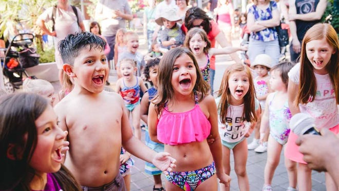 Tempe Marketplace hosts Summer Splash Thursdays, giving kids a place to cool off and a chance to meet their favorite superhero and princesses in June and July.