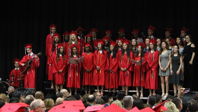 Bishop Ahr High School in Edison held graduation exercises for its Class of 2018 on June 2.