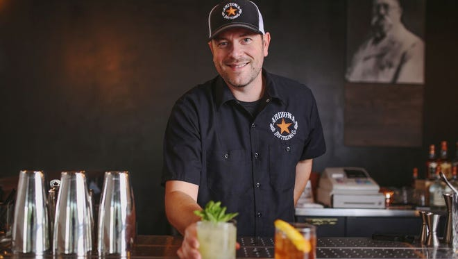 Micah Olson is the new director of beverage at Arizona Distilling Co.
