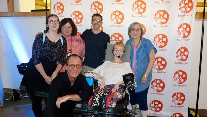 Grateful Director/Producer Paul Nethercott, Jenni Berebitsky, Editor Christina Stair, Executive Producer/Producer Amy Pauszek, Jeff Berebitsky and Executive Producer Joyce Kleinman (Jenni Berebitsky's mother).