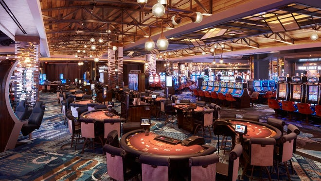 MGM Springfield debuts on Friday. The 125,000-square-foot casino at MGM Springfield features 2,550 slots, 120 table games, a high-limit room and a poker room with 23 tables.