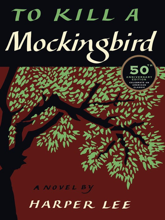 XXX _LEE KILL MOCKINGBIRD 50TH COVER BOOKS 3682 .JPG A ENT