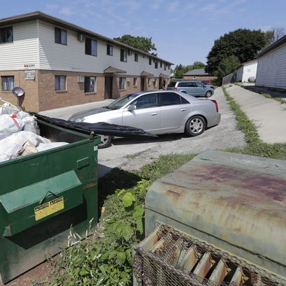 Imperial Lane in Green Bay, the city's poorest neighborhood,