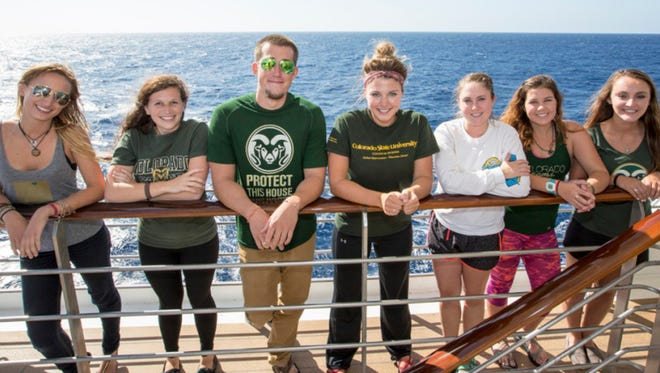 Students from universities around the nation will join the Ram Family for their Semester at Sea, earning college credits from Colorado State University.