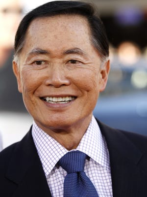 """Actor George Takei is best known for playing Mr. Sulu on """"Star Trek."""""""