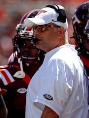 Virginia Tech coach Justin Fuente describes Bartelstein