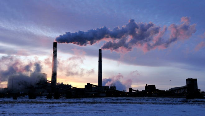 This file photo from February 2014 shows the coal-fired Sherburne County (Sherco) Generating Plant in Becker.