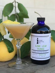 The Tónico de Otoño made with Iconic Cocktail Co. Lime