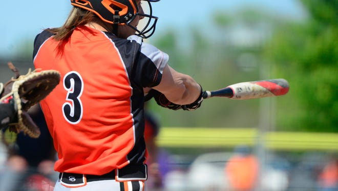 Gibsonburg's Abby Ruth had an RBI-single Wednesday.