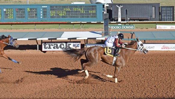 Eagle Jazz is the morning-line favorite for Sunday's