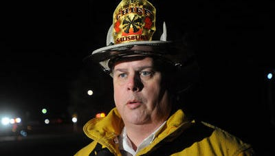 Salisbury Fire Chief Rick Hoppes