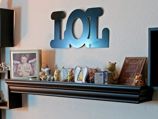 Small figurines and items remain the way Lauren Landavazo left them in her room when she was murdered on Sept. 2, 2016.