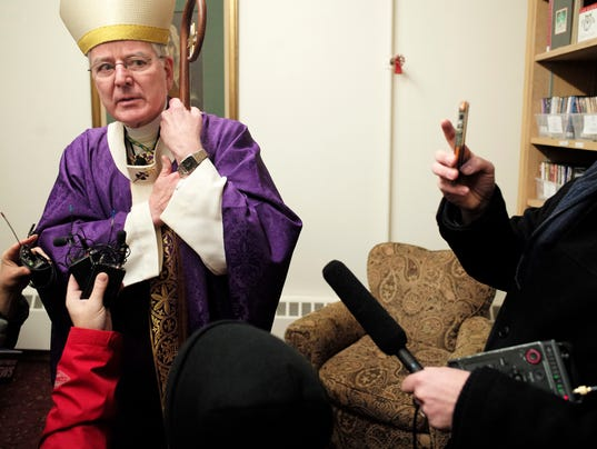 US archbishop resigns