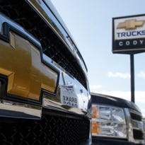 Black Friday is turning into a big sales day for car dealers. Here's a file photo of Cody Chevrolet- Cadillac in Montpelier, Vt.