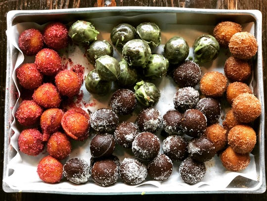 Bigwig Donut holes are baked, not fried, and they're completely vegan and gluten-free.