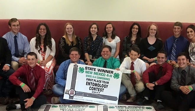 Luna County 4-H brought home five state championship banners from the 2017 New Mexico 4-H Leadership Conference held in Las Cruces, July 15, 2017.