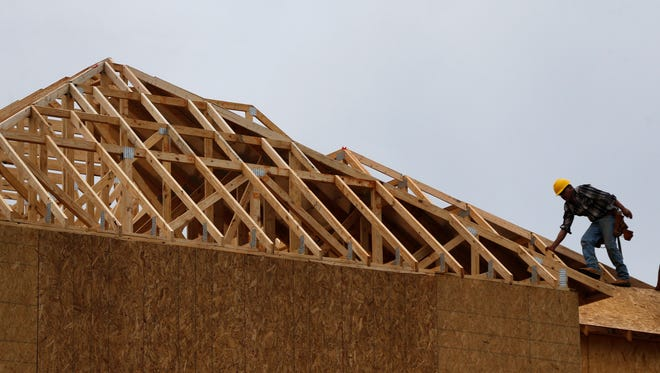 Home construction was expected to pick up in the fourth quarter after falling the previous six months.