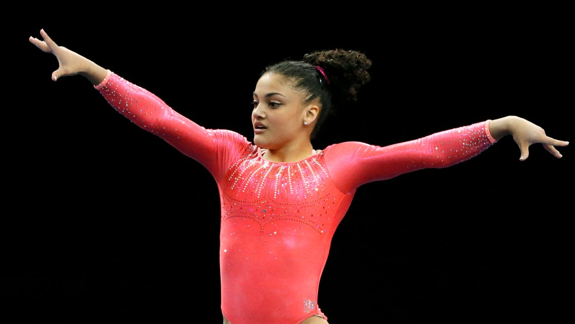 Armour: Laurie Hernandez keeps pace with vets at U.S. gymnastics championships