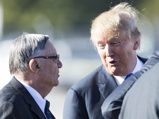Trump arpaio iowa