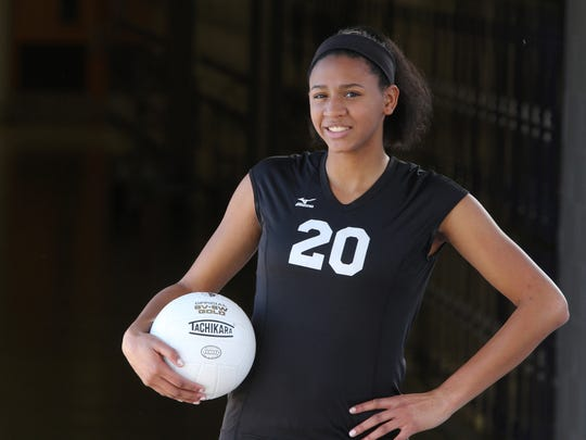 Old Bridge's Lizzie Joseph is Home News Tribune Girls Volleyball Player of the Year.