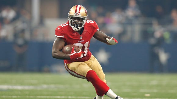 Frank Gore won't have to carry the load like he did