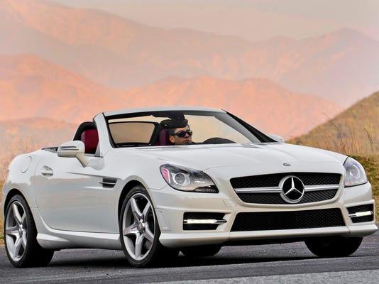 2014 Mercedes-Benz SLK roadster
