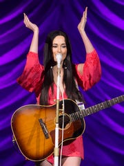 Kacey Musgraves performs Friday at the BMO Harris Bradley