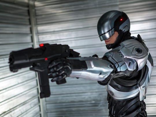 "Joel Kinnaman in ""RoboCop."""