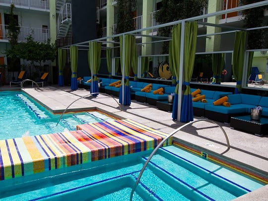 The Clarendon Hotel and Spa Pool