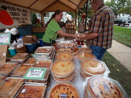 Peach pies? You'll find plenty of them this weekend in Romeo.