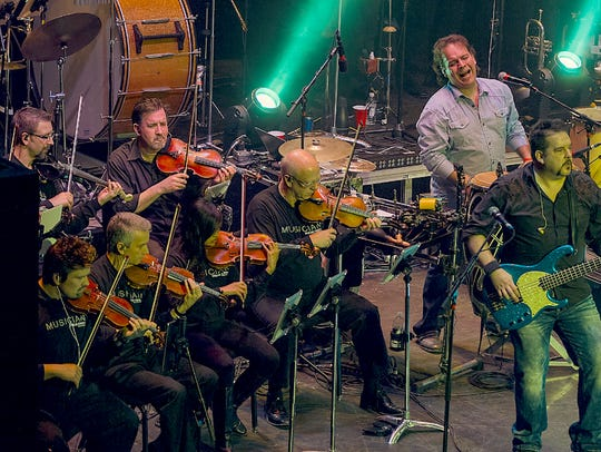 Vic Ferrari band's 'Symphony on the Rocks.'