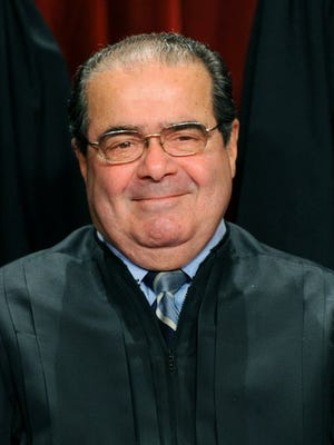 Justice Antonin Scalia in Washington in 2010.