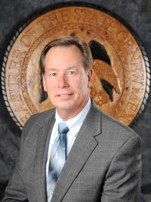 New Mexico Treasurer Tim Eichenberg is shown in this undated photograph.