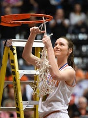 Silverton's Alia Parsons led the Foxes to an undefeated season that culminated with the 5A state championship.