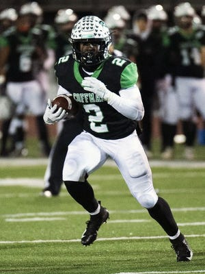 Bryon Threats ran for 119 yards and three touchdowns on 13 carries as Dublin Coffman defeated Dublin Jerome 41-6 on Aug. 28.