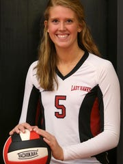South Side's Shea Dean finished the season with 546 kills and 104 blocks.