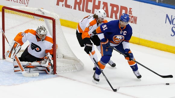 John Tavares leads the Islanders with 20 points.