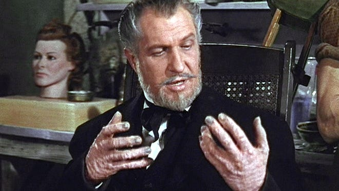 """Vincent Price stars in the 1953 horror film """"House of Wax,"""" which has a 60th-anniversary Blu-ray out Tuesday."""