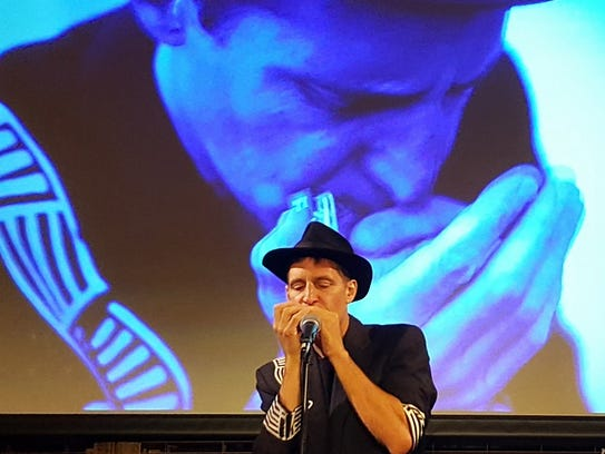 Blue Tango Project harmonica player Kevin Carrel Footer.