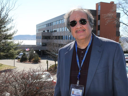 George Coniglio, of Peekskill, is a New York state certified ombudsman and is seen standing in front of the Skyview Nursing Home in Croton on March 23, 2015. Skyview is where he trained for the ombudsman program.