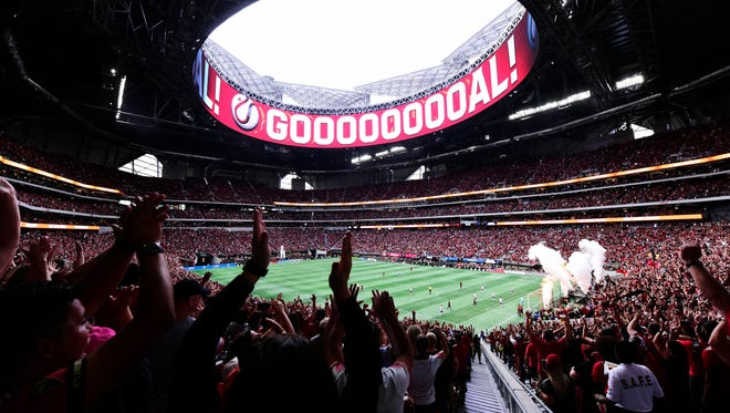 Bolstered by high attendance figures brought in by Atlanta United, MLS averaged 22,000 fans per game in 2017.