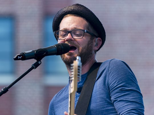 Josh Kaufman, shown performing at the Indiana State Fair on Aug. 7, 2014, will play The Vogue on Saturday.