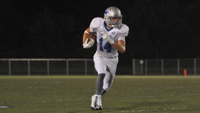 Smoky Mountain senior Connor Moore has committed to play college football for Western Carolina University.