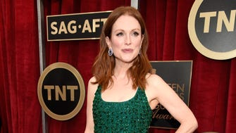 Julianne Moore strikes her pose on the red carpet for the  21st Annual Screen Actors Guild Awards at The Shrine Auditorium on Jan. 25, 2015, in Los Angeles.