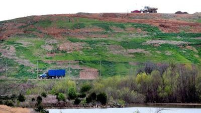 The private Middle Point Landfill is off East Jefferson Pike north of Murfreesboro.
