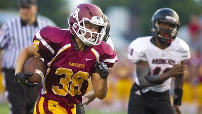 McCutcheon's Blake Elming has scored nine touchdowns in the last two games.