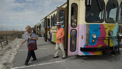 The Santa Rosa Island Authority will launch its beach-wide, free trolley service offering GPS-assisted, real-time, on-time schedule information May 23.