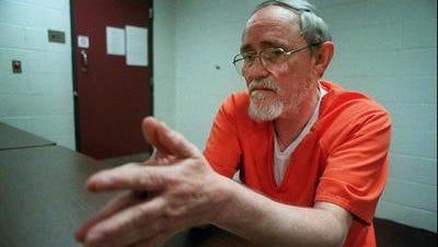 Father Patrick Moloney at Loretto prison.