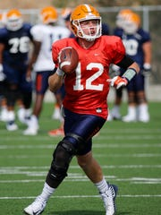 Ryan Metz is UTEP's senior quarterback.